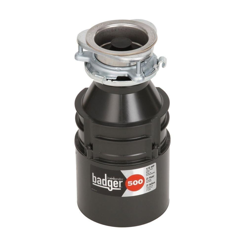 InSinkErator Badger 500-1/2 HP Continuous Feed Garbage Disposal