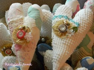 Chenille and Quilt Hearts Tutorial3
