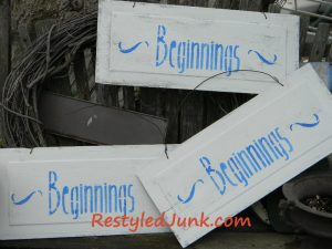 More Stenciled Signs6