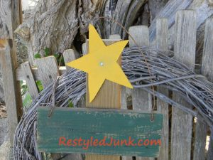 Scrap Wood Christmas Trees with stars