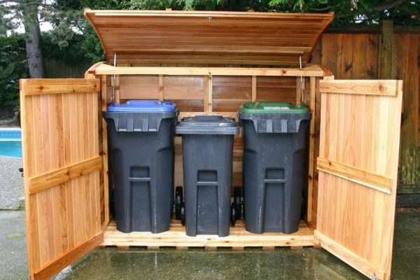 What Are The Best Garbage Can Storage Sheds – Top 11