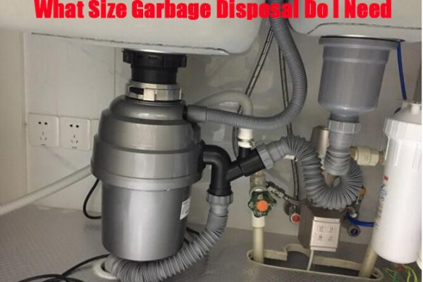 What Size And Horsepower Garbage Disposal Do I Need