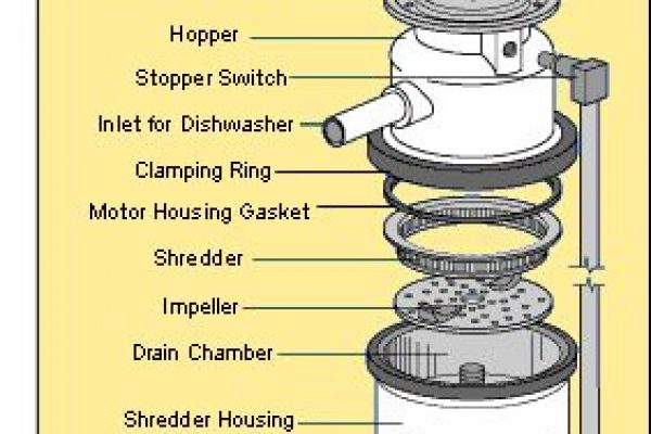 Garbage Disposal Parts (Garbage Disposal Parts Diagram)