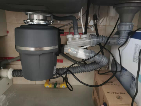 garbage disposal for deep sink