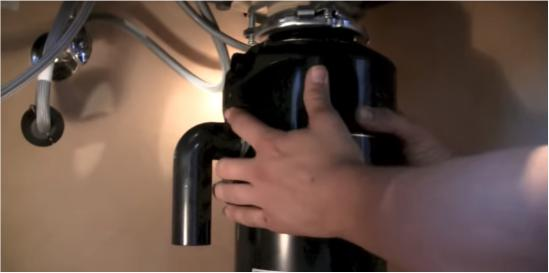 Mounting the disposer